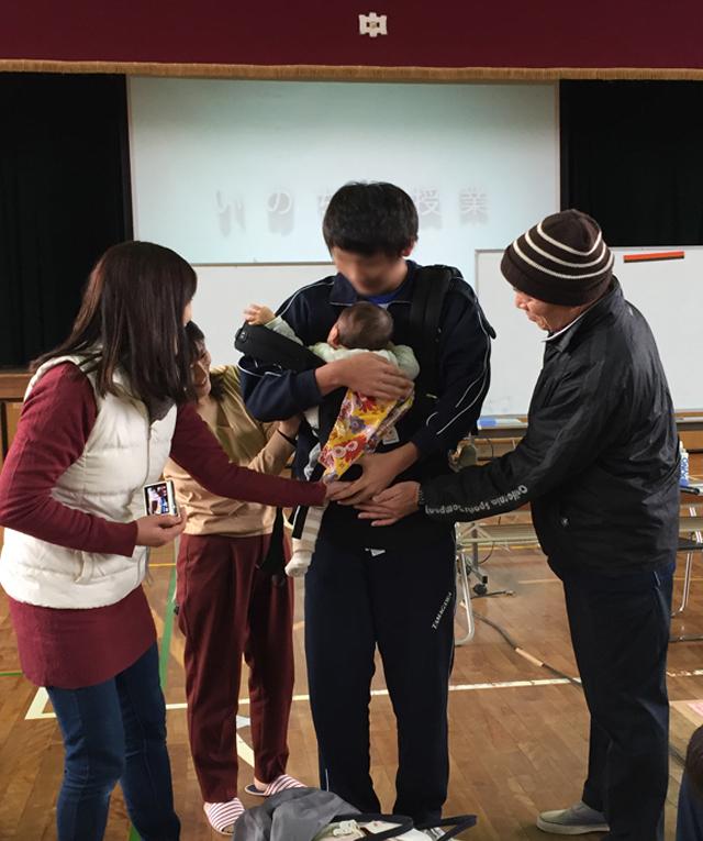 inochi no jyugyo 02.. - いのちの授業 東大阪市玉川中学校の3年生