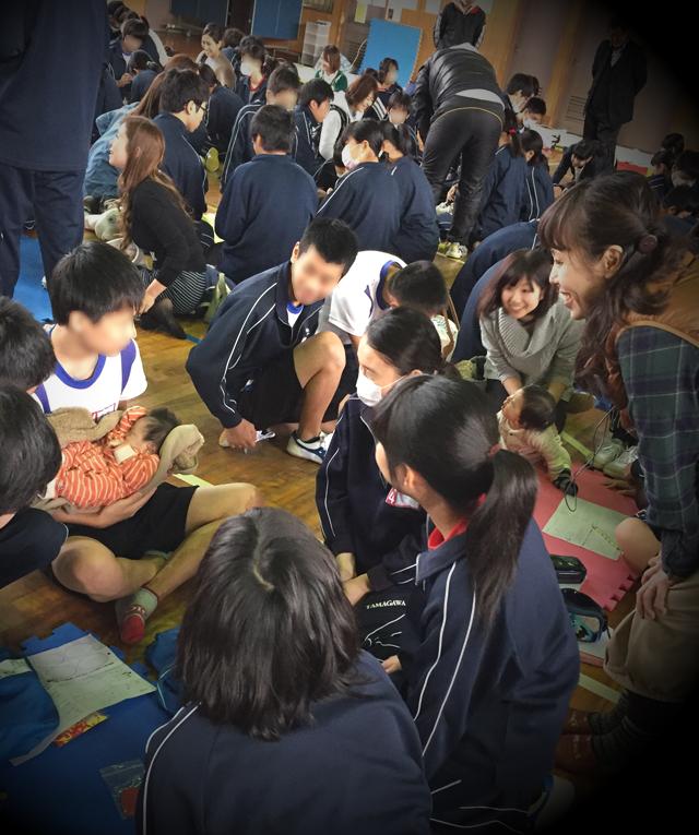 inochi no jyugyo 04 - いのちの授業 東大阪市玉川中学校の3年生