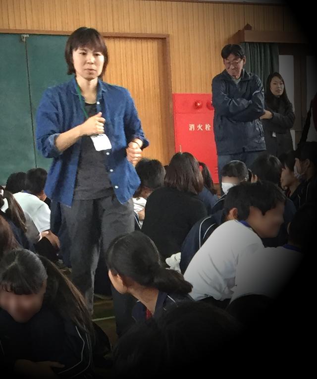 inochi no jyugyo 05 - いのちの授業 東大阪市玉川中学校の3年生
